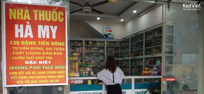 Nhà thuốc Hà My kinh doanh hiệu quả nhờ quản lý tốt kho nhà thuốc