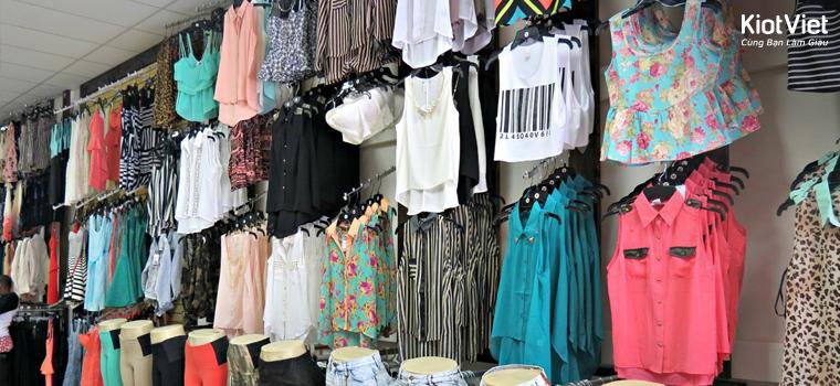 Bán buôn quần áo hàng thùng nên nhập hàng từ đâu?