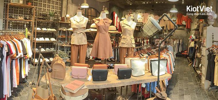 Cực hút khách với 4 nguyên tắc sống còn trong thiết kế shop thời trang