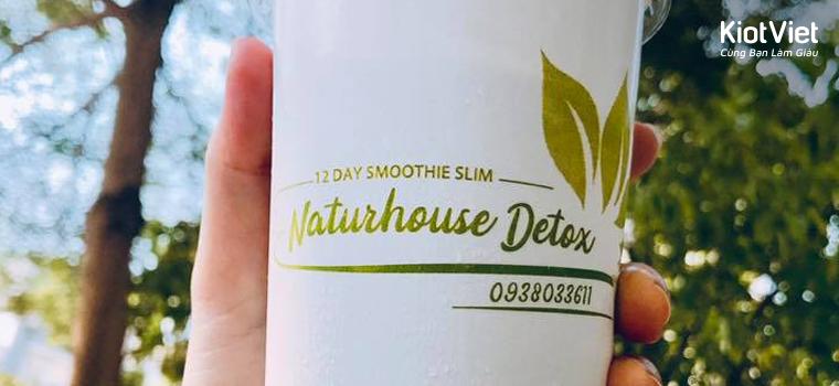 """Naturhouse Detox - thu hút khách bằng công thức pha chế """"bạc tỷ"""""""