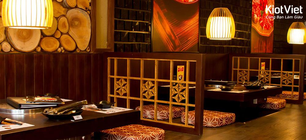 3 Nguyên tắc thiết kế nhà hàng kiểu Nhật bắt mắt