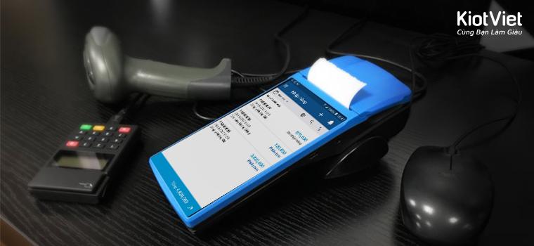 """KPOS Mobile B06 nâng cấp bán hàng cùng giải pháp công nghệ """"all in 1"""""""