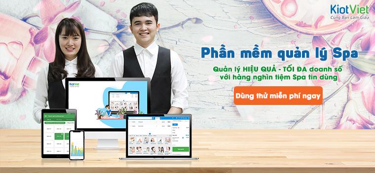 Phần mềm quản lý SPA online chuyên nghiệp, tốt nhất hiện nay
