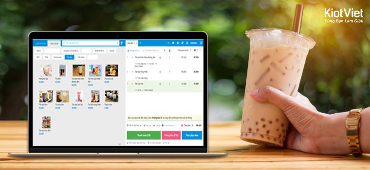 phần mềm quản lý trà sữa