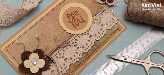 Ý tưởng làm đồ handmade để bán đắt hàng, vạn người mê