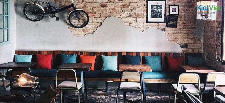 cách trang trí quán cafe