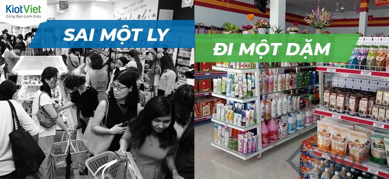 3 lỗi quản lý siêu thị mini tưởng