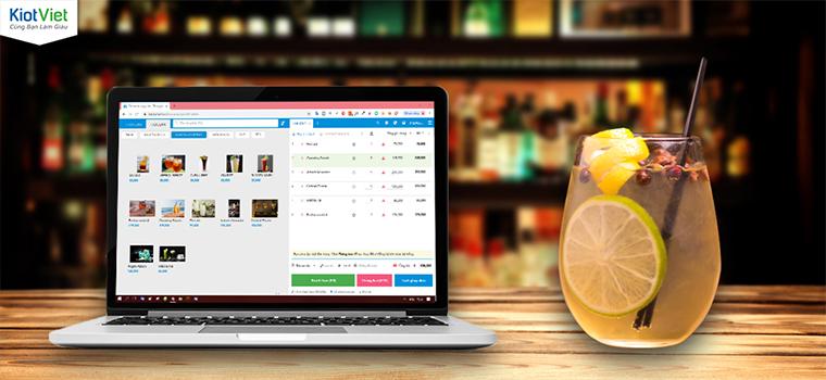 Phần mềm tính tiền quán bar chuyên nghiệp hiện đại