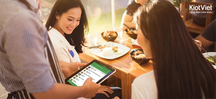 Kinh doanh ĐỘT PHÁ khi ứng dụng app quản lý bán hàng cho quán cafe