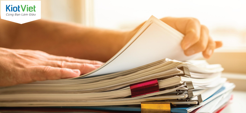 Tại sao bạn nên thay đổi thói quen quản lý bán hàng bằng sổ sách?