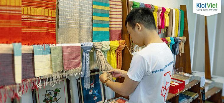 Bá Minh Silk và sứ mệnh làm mới sản phẩm lụa tơ tằm truyền thống