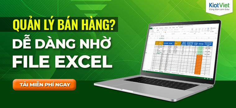Tổng hợp mẫu file Excel quản lý bán hàng đơn giản - chính xác