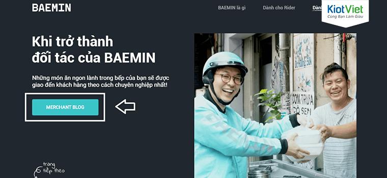 Cách đăng ký bán hàng trên Baemin và mẹo giúp tăng đơn vèo vèo