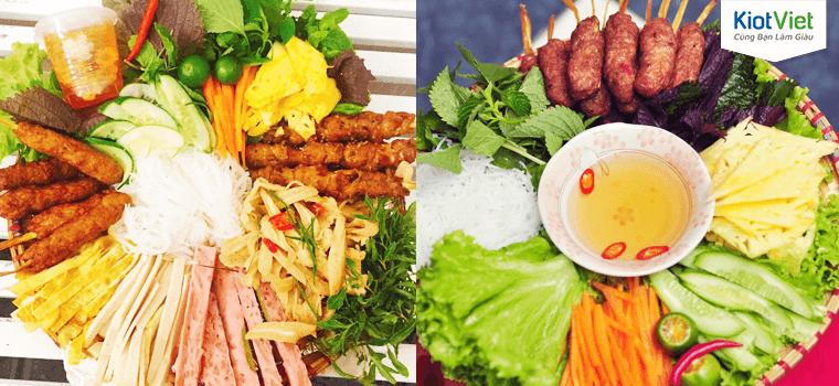 Đồ ăn vặt nổi tiếng của tiệm ăn Bếp Mây