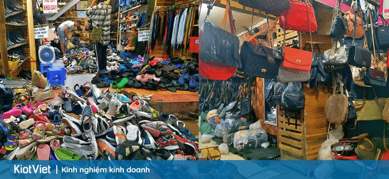 Chợ hàng si bàn cờ Sài Gòn