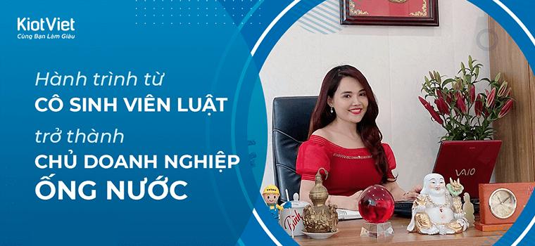 Hành trình từ cô sinh viên Luật trở thành chủ doanh nghiệp ống nước