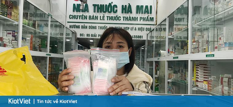 Tặng 626.000 túi zipper cho các nhà thuốc sử dụng KiotViet