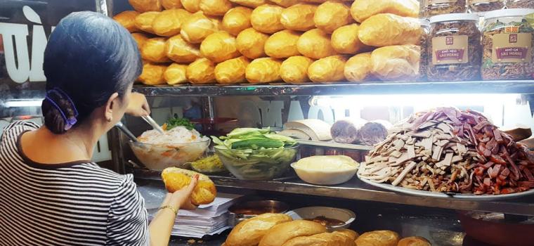 Thuê mặt bằng bán đồ ăn sáng