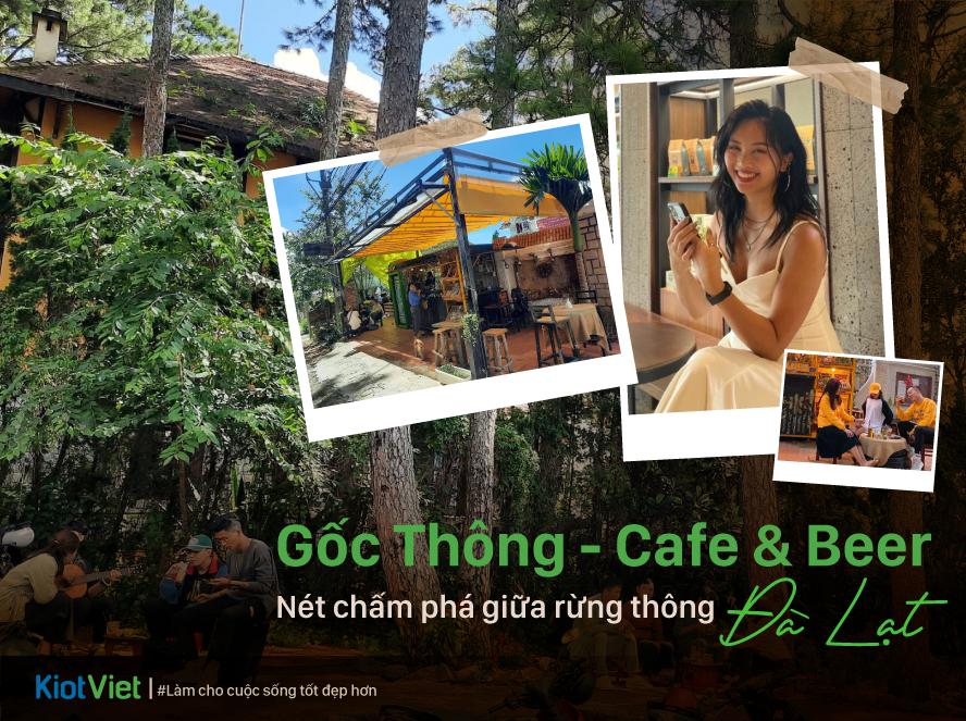 Gốc Thông - Cafe & Beer - Nét chấm phá giữa rừng thông Đà Lạt