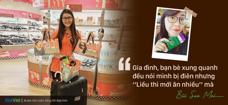 Chủ shop chuyên hàng xách tay Thái Lan nổi tiếng ở Hà Nội