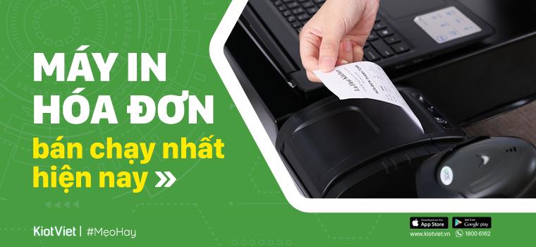 Máy in hóa đơn - Máy in bill chính hãng, giá tốt, tặng kèm 1 năm bảo hành