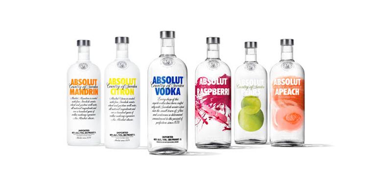 Thương hiệu rượu Absolut