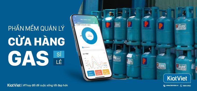 Phần mềm quản lý cửa hàng gas sỉ và lẻ