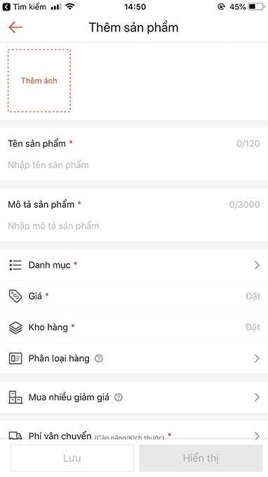 cách đăng ký bán hàng trên shopee bằng điện thoại