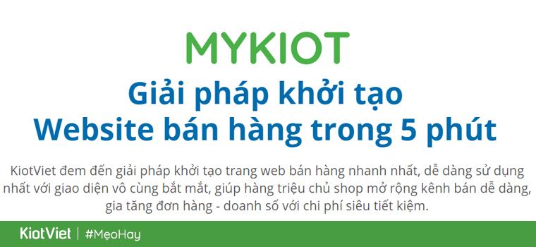 lập trang web bán hàng