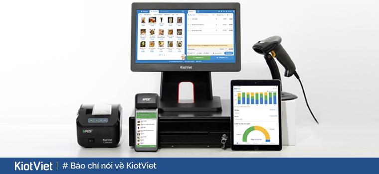 Tạp chí Diễn đàn Doanh nghiệp: KiotViet là nền tảng hoàn thiện cho doanh nghiệp nhỏ và vừa