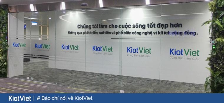 Chuyên trang tài chính CafeF: KiotViet nhắm đến 95% số doanh nghiệp Việt Nam, đóng góp 40% GDP